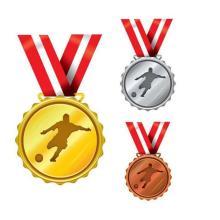 Souvenir Cheap Engraved Custom Gold Award Metal Medal