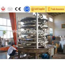 Sécheur de plaque continu pour la machine de séchage de carbonate de cuivre / carbonate de ciments