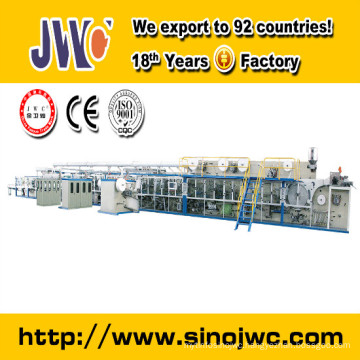 CE&ISO9001 Certificated Low Cost Pull on Baby Diaper Making Machine