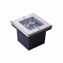 IP67 Sidewalk led square buried led lighting glass