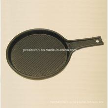 Мини-сервировочная сковорода из чугуна