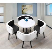 ROUND MDF COFFEE TABLE SET