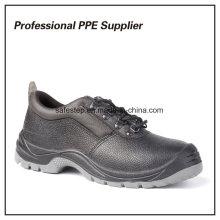 Sapato de trabalho barato em aço genuíno