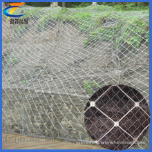 Slope Protection Spider Spiral Rope Net