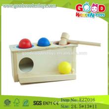 2015 Novos mais populares Jogo de brinquedo de martelo Brinquedos de martelo de crianças Bola de martelo de madeira