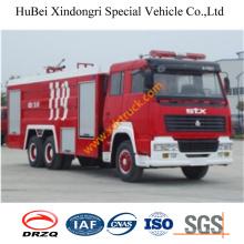 15ton Steyr Foam Fire Truck Euro3