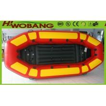 China Catamaran inflável com PVC para Rafting