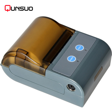 RS232 Bluetooth 58mm printer penerimaan termal