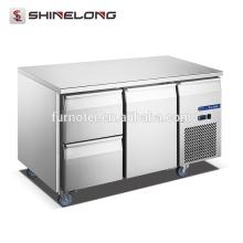 FURNOTEL Luxus Schubladen Kühlschrank Preisliste 1-Tür 2-Schublade unter Kühlschrank FRUC-8-1