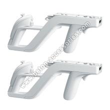 White Zapper Gun For Nintendo Wii Remote Wiimote Controller