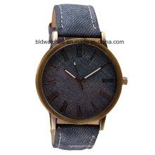 Antike analoge Promotion Quarz Geschenk Uhr mit Lederband