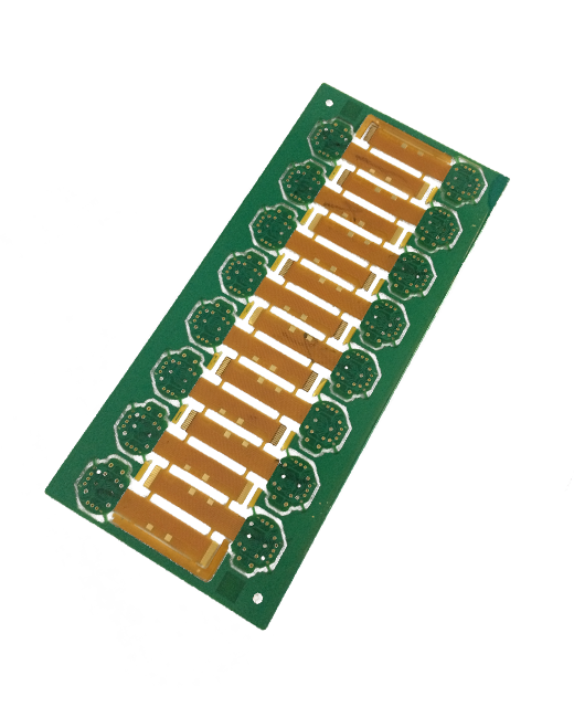 Double Sided Rigid flexi PCB