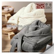 Großhandel 100% Baumwolle Velour lange elegante Paar Bademantel