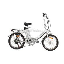 Vélo pliant vélo de 20 pouces vélo avec pédalage assisté chinois vélo de route électrique