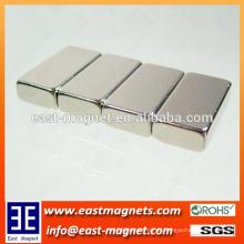 Hochleistungs-Block Motor Neodym Magnet / vernickelt Block Magnet zum Verkauf