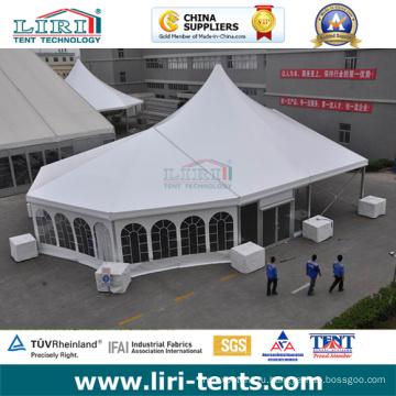 20Х40 напольный высокий пик алюминиевая рама палатка с окном Церкви для продажи