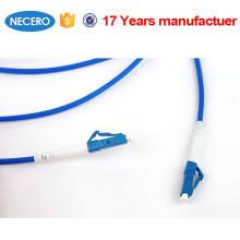 trança SC / LC / FC / manutenção programada da fibra óptica do ST da fibra óptica, milímetro cabo de remendo de 0.9mm / de 2.0mm / de 3.0mm