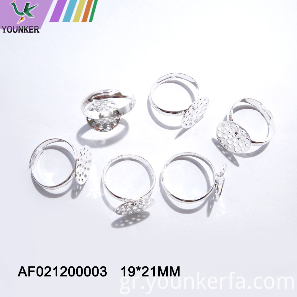 Fashion Jewelry Metal Adjustable Ring