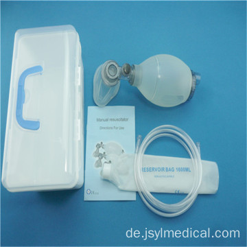 Solid Silicone Pediatric Resuscitator