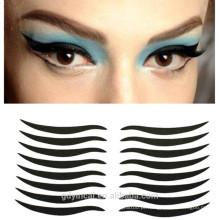 Etiqueta falsificada da tatuagem do olho não-tóxico feito sob encomenda do eyeliner para a decoração da composição