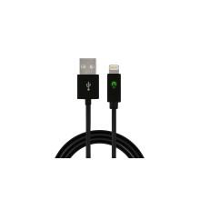 Câble visuel instantané de synchronisation de chargeur de lumière de LED pour des dispositifs de Apple 8-Pin