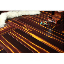 Household 12.3mm Mirror Cherry Water Resistant Laminated Flooring