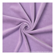 DIY Children's Wear Cloth Make Bedding Quilt Poplin Polyester Fabric Solid Color Knit Microfiber Fabric 100% Polyester DYE Plain