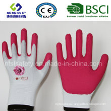 Super Soft Foam Latex Coated Gardening Work Safety Gloves