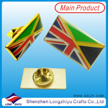 Cross Flag Lapel Pin of UK and Germany