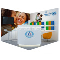 Detian offer backlit 3x3 exhibition display for trade show expo booth