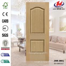 JHK-M01 JHK-M01 Gravado Pressionado 16mm Solid Destaque EV-ASH 5317 Mould Veneer Door Madeira Door Panel