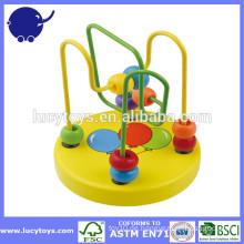 Bunte Perlen Holz Achterbahn Spielzeug