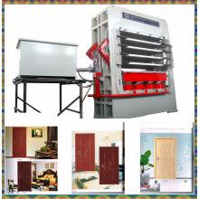 4 Layers Veneer Skin Short Cycle Wood Door Press Machine