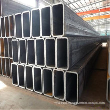 Tubo de acero rectangular / rectangular sumergido revestido del cinc