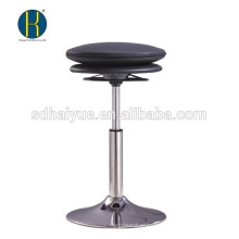 Hot selling black pu bar furniture for sale with round base