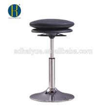 Горячая продажа черный PU-бар мебель на продажу с круглым основанием