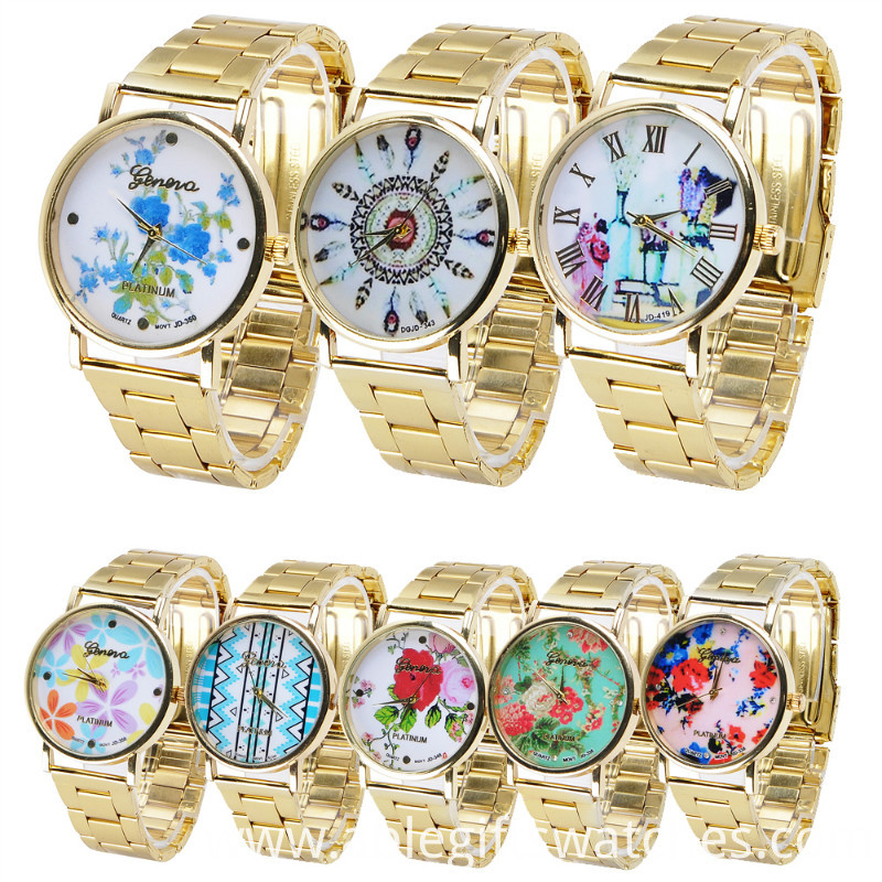 flower metalwatch