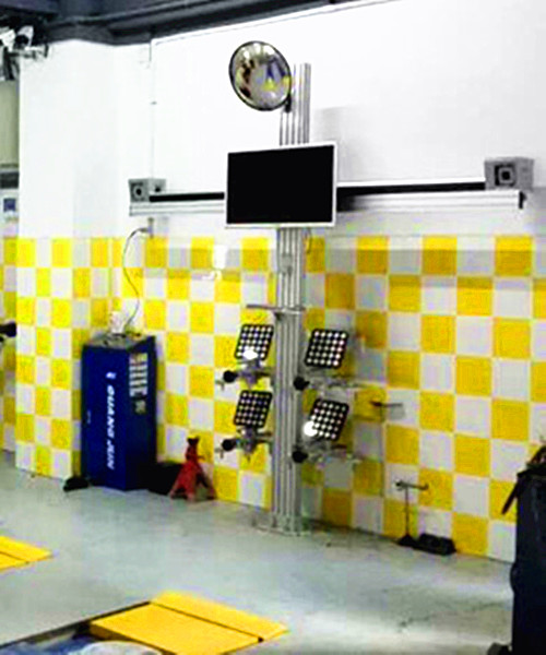 3D Simple Wheel Alignment Machine