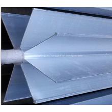 Partes del vaporizador ambiental: tubos extruidos de aluminio extruidos de estrella
