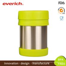 Venta al por mayor de contenedores al por mayor BPA libre de contenedores de plástico de alimentos Bento caja redonda