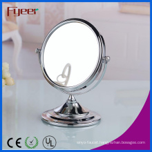 Fyeer Attractive Double Side Round Magnification Makeup Mirror for Beauty