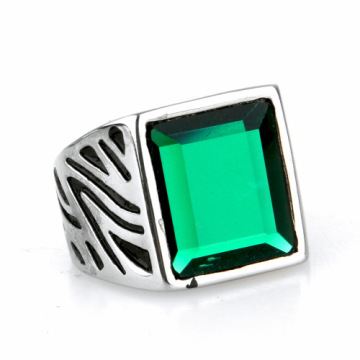 Luxury jewelry square Diamond signet ring