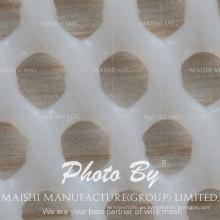 valla de malla de plástico blanco popular