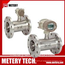 Fluxômetro de medidor de vazão de turbina de petróleo bruto MT100TB