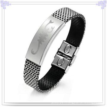 Jewelry Fashion Leather Jewelry Leather Bracelet (LB066)