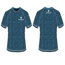La mejor impresión al por mayor de la camiseta del OEM con su nuevo diseño del logotipo