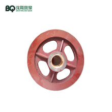 415*80mm Rope Pulleys for Tower Crane F0/23B