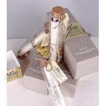 Бумажные картонные двухсторонние открытые подарочные коробки