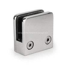 Stainless Steel Square D Glass Railing Clamp