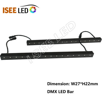 DMX RGB led Digital أنبوب Facade إضاءة 12v